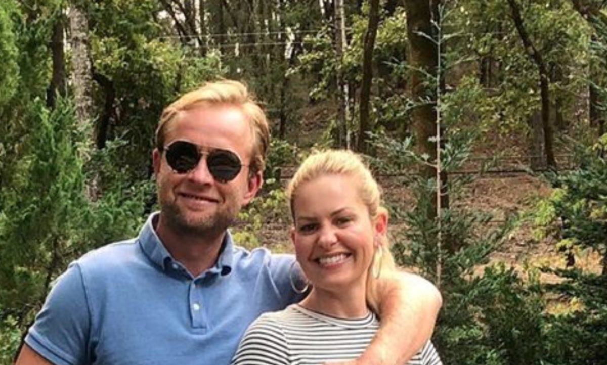 candace cameron bure responds, says she won't apologize, as commenters call a photo she took with her husband 'inappropriate'