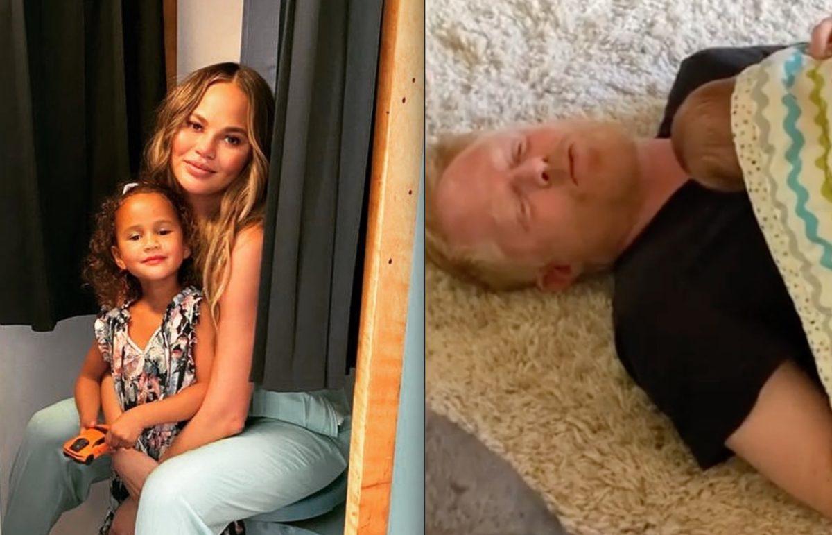 New Dad Jesse Tyler Ferguson Jokes About Parent-Shaming on Chrissy Teigen's Instagram Post