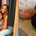 New Dad Jesse Tyler Ferguson Jokes About Parent-Shaming on Chrissy Teigen's Instagram Post