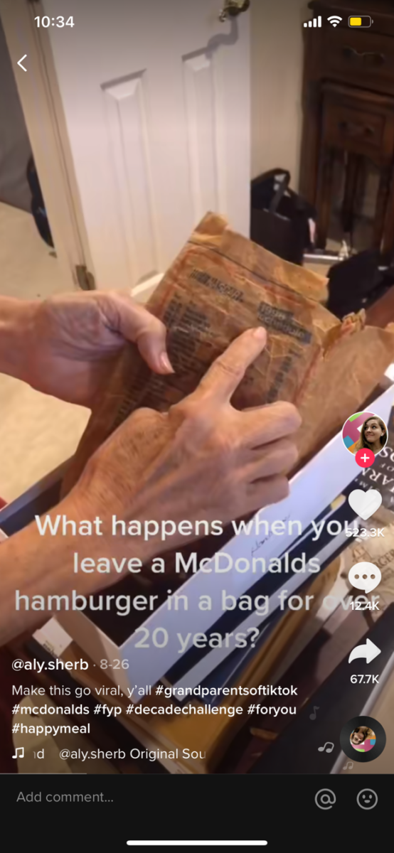This Woman Has Kept a McDonald's Meal in a Shoebox in Her Closet for More than 24 Years, And... OMG! / Viral TikTok Video