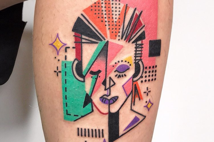 25 Wonderfully Weird David Bowie Tattoos That Rock