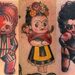 25 Cute & Creative Kewpie Doll Tattoos That Will Make You Smile