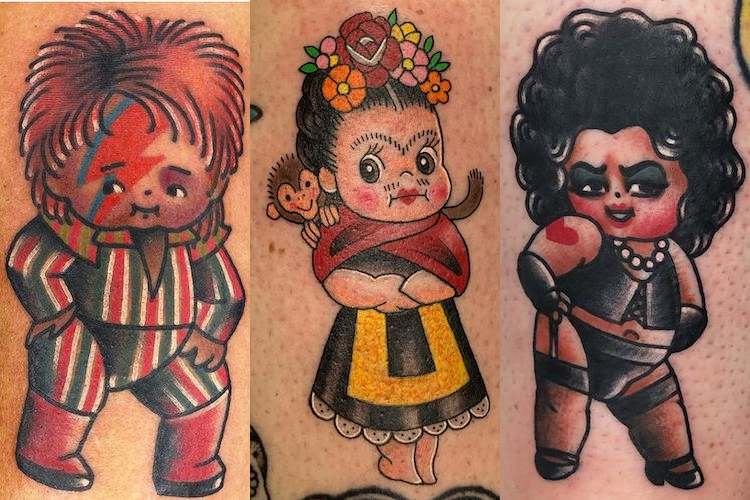 25 Cute & Creative Kewpie Doll Tattoos