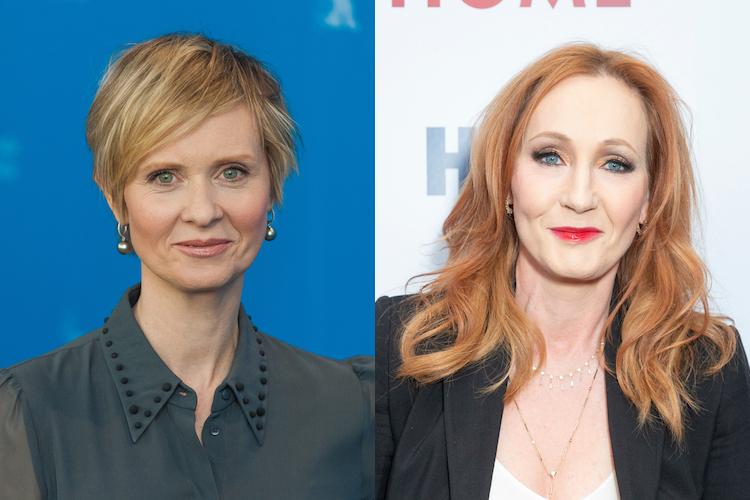 Cynthia Nixon Reveals J.K. Rowling's Transphobia Hurt Her Trans Son