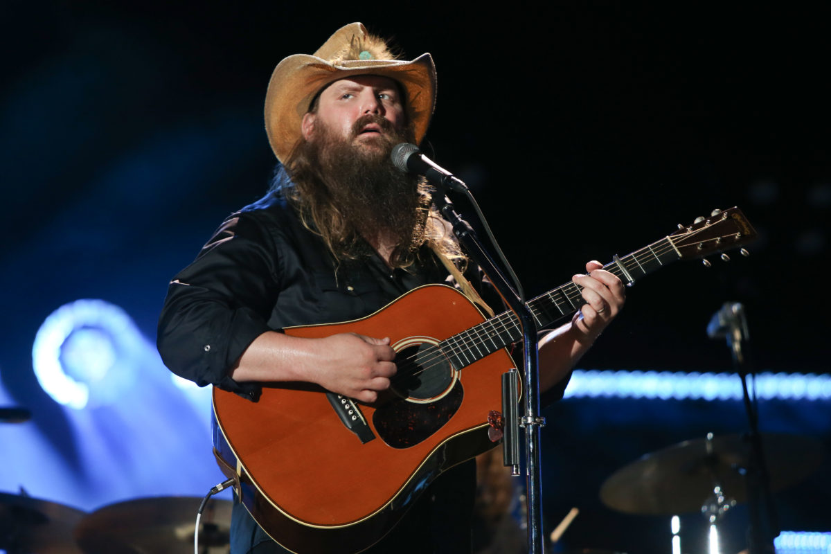 """dad of 5, country music star chris stapleton says recent protests have shown him the america he thought he was living in is a myth 