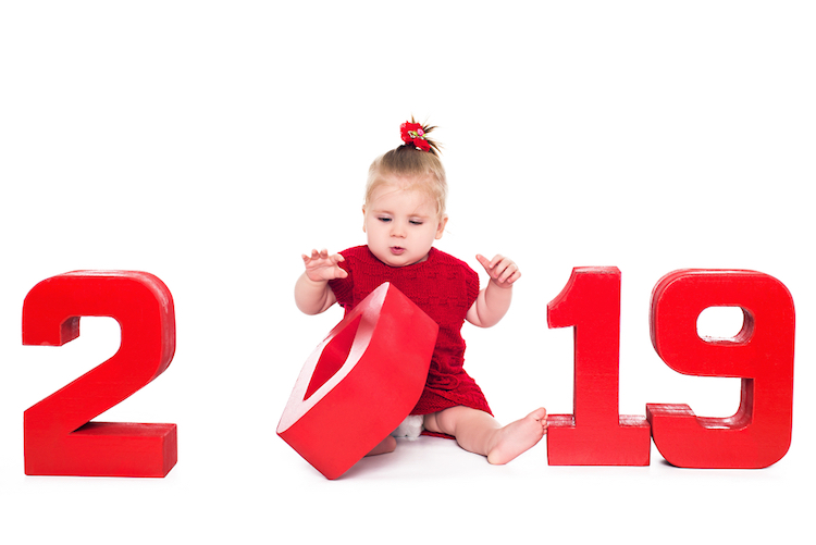 the official top 25 baby girl names of 2019 are finally here!