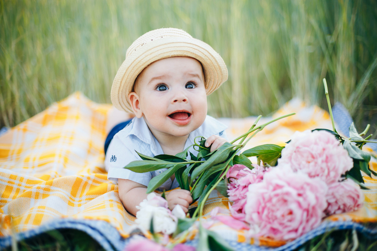 25 Fine Flower Baby Names for Boys