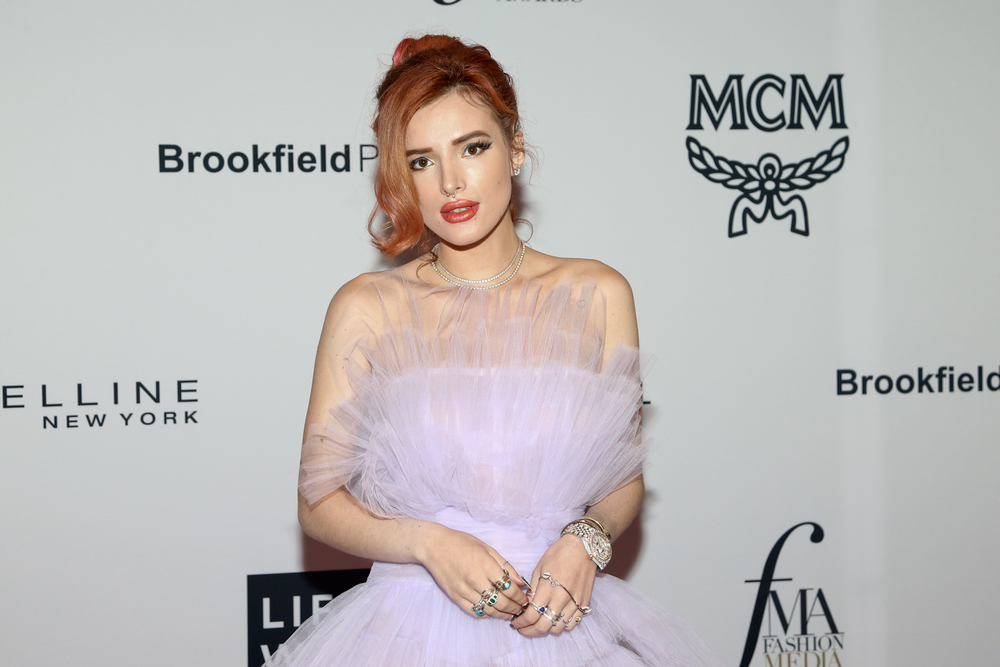 Actress Bella Thorne Issues Apology to Sex Workers After Bizarre OnlyFans Scandal