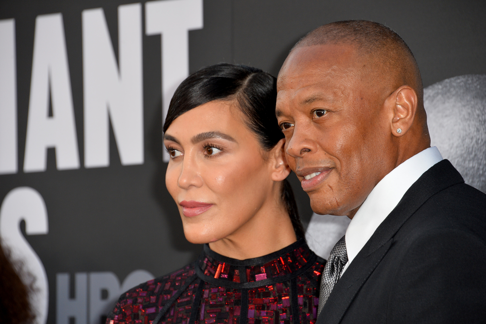 dr. dre's wife nicole young wants $2m a month in temporary spousal support amid divorce