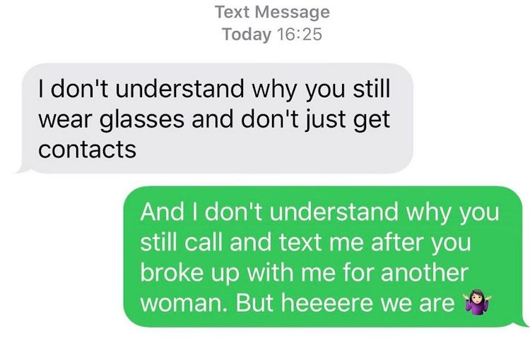 15 of the Funniest 'Texts From Your Ex' That Prove It's OK That Some Love Dies