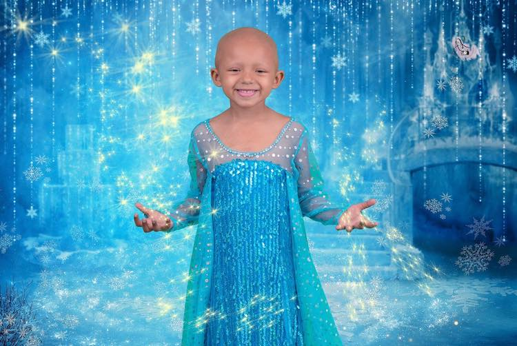 5-Year-Old with Cancer Gets Dreamy Disney Princess Photo Shoot