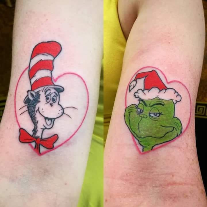 25 delightful dr. suess tattoos that bring the nostalgia