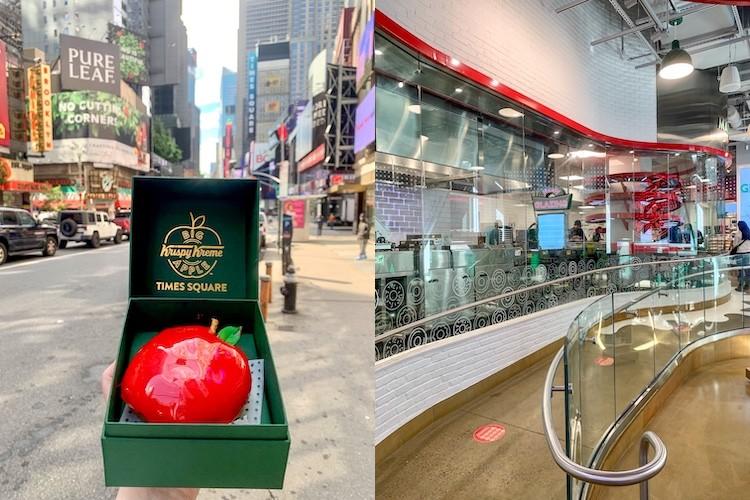 Krispy Kreme Times Square is the #1 Doughnut Destination