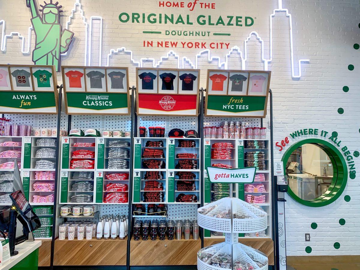 Krispy Kreme Times Square Doughnut Destination Merchandise