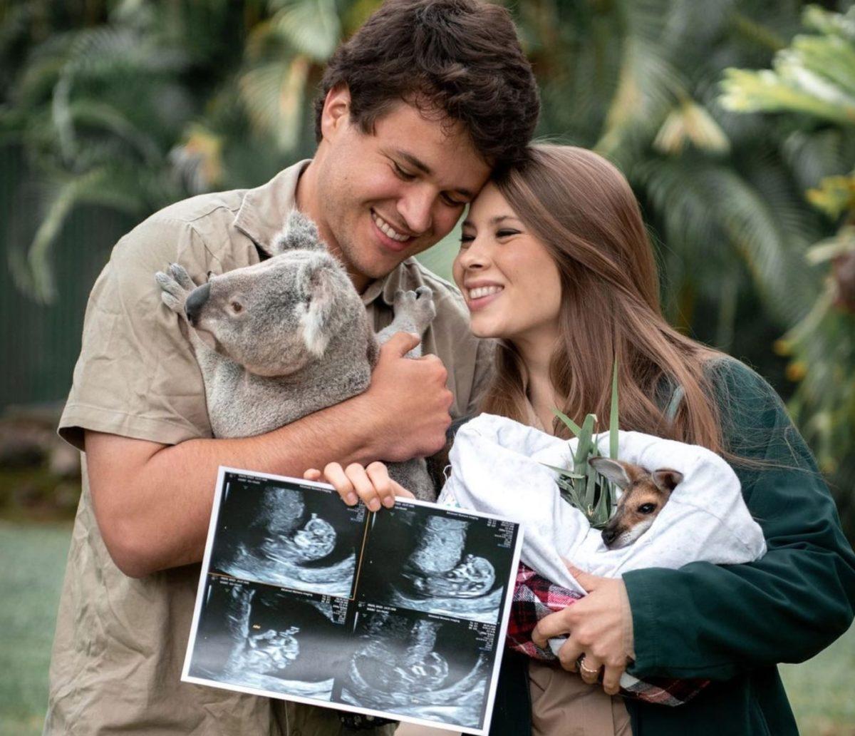 bindi irwin reveals very first baby bump picture!