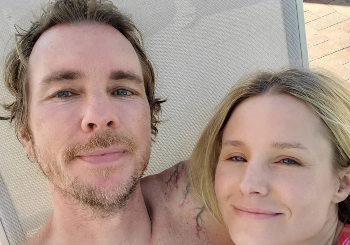 kristen bell revealed what dax shepard said after relapsing