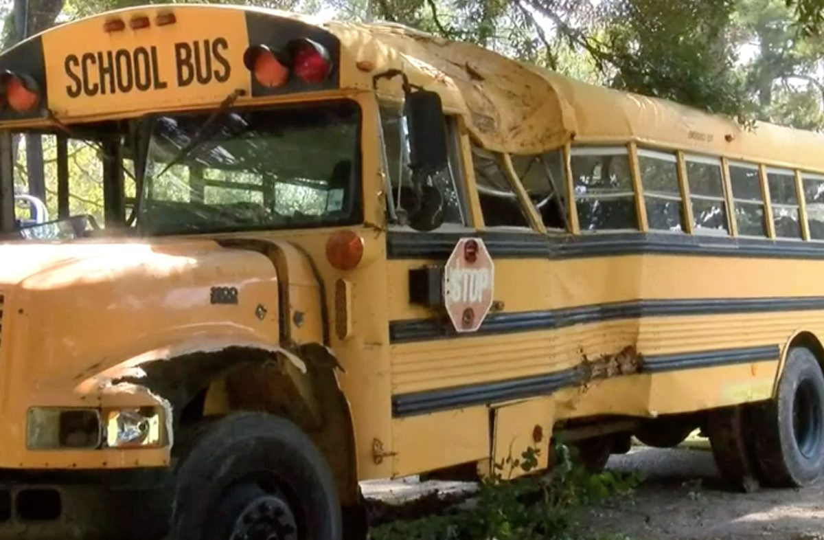 11-year-old caught jacking school bus, police pursue him