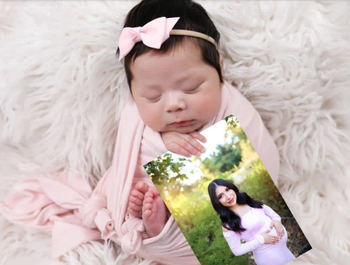 Viral Newborn Photo Shoot Honors Mom After She Was Killed
