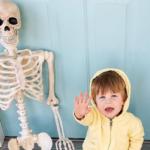 Toddler Brings Skeleton BFF Everywhere And It Is Spooky Sweet