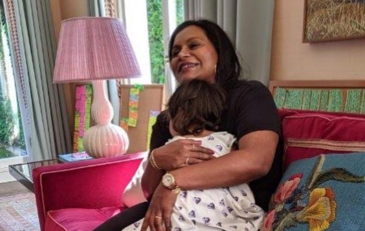 Actress Mindy Kaling Shares Her Best Kept Secret of Quarantine, She's Now a Mom of Two