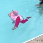 Controversial TikTok Showing a Swim Teacher Letting a Fully Clothed Toddler Fall in the Pool as a Lesson Goes Viral