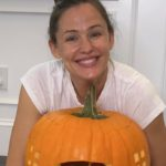 Jennifer Garner Is Shutting Down Pregnancy Rumors Once Again After Sharing a Photo of the Pumpkins She Carved