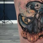 25 Nightmare Before Christmas Tattoos That Are Actually Pretty Dreamy