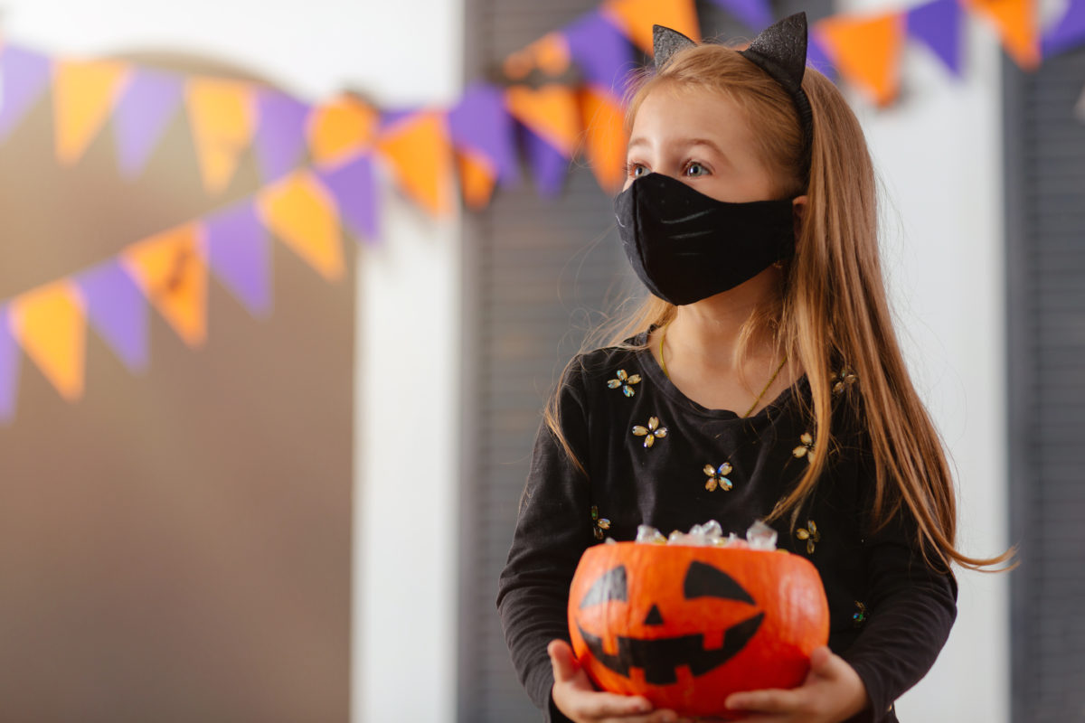 """here's how the cdc says you can have a safe halloween and other creative trick or treat hacks that may have you feeling normal 