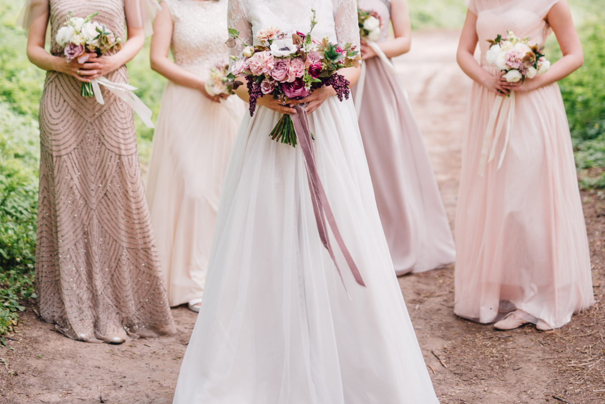 bridesmaid tells bride that the idea of putting vials of dad's ashes in their bouquets is weird—but is it?