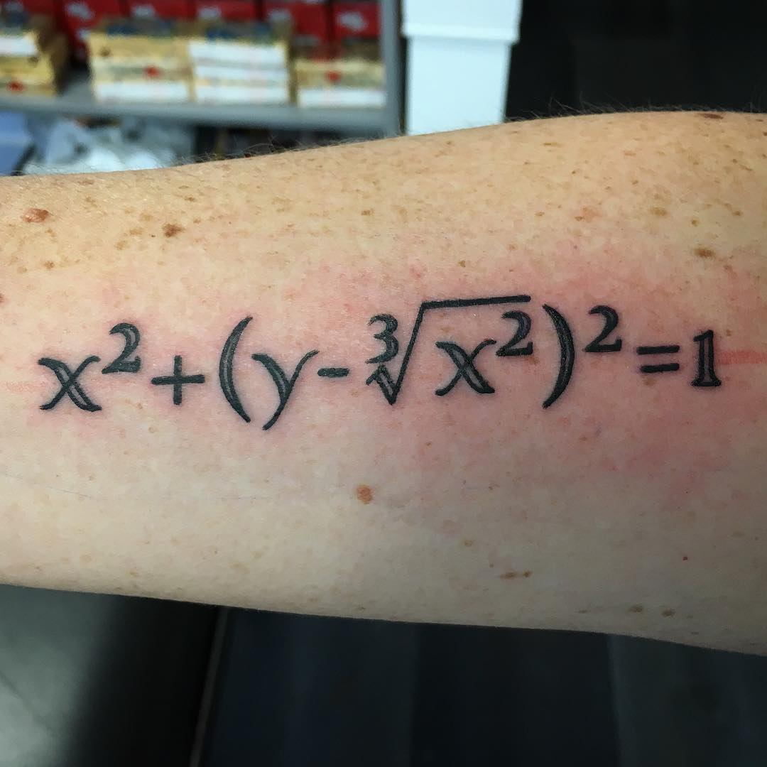 25 Math-Inspired Tattoos for All the Mathletes Out There