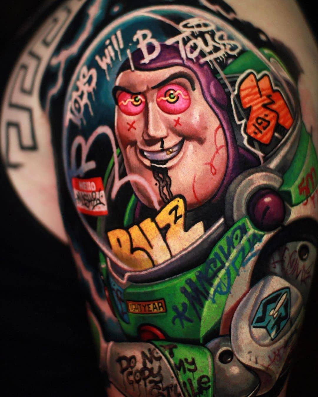 25 graffiti tattoos that celebrate street art and style