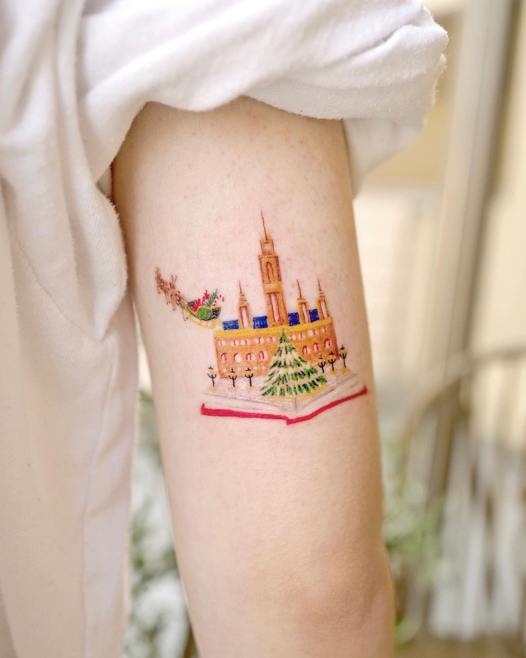 25 Christmas Tattoos That Bring the Jolly