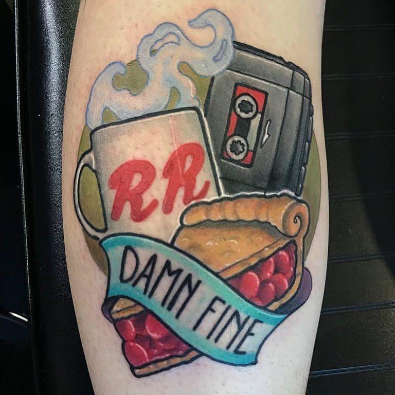 25 pie tattoos to celebrate pie season aka the holidays