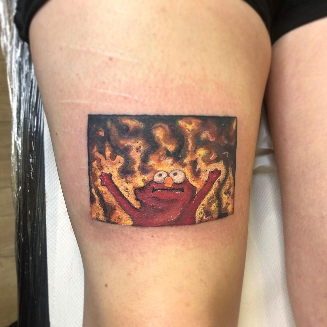 25 Meme Tattoos That Extremely Online People Got IRL