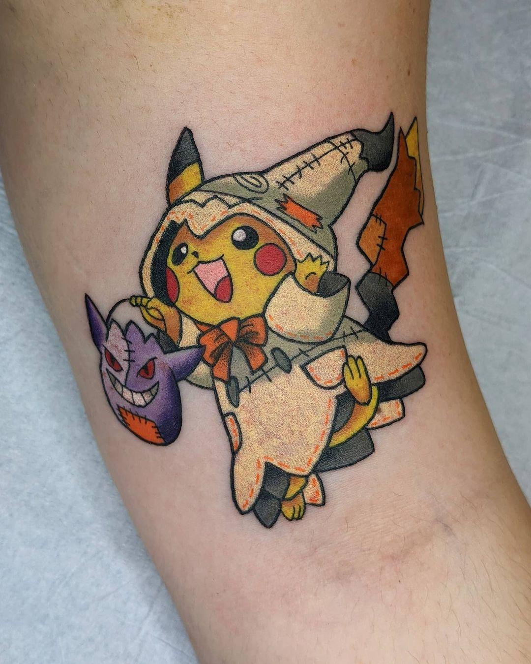 25 perfect pokémon tattoos, you gotta ink 'em all