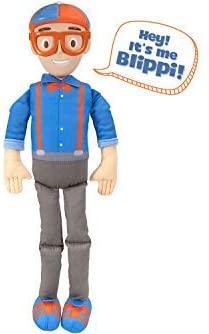 Blippi Bendable Plush Doll