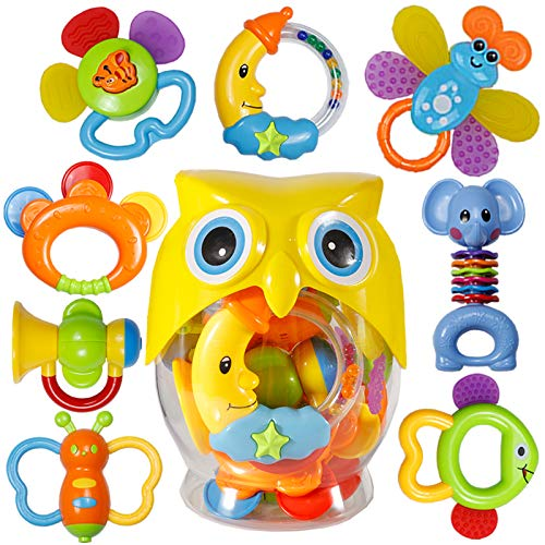 baby rattle sets teether rattles toys