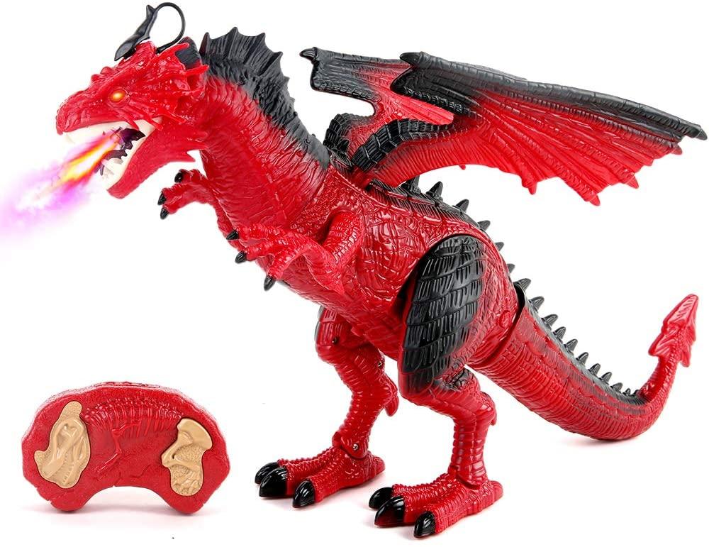 beebeerun remote control dinosaur toy- amazon