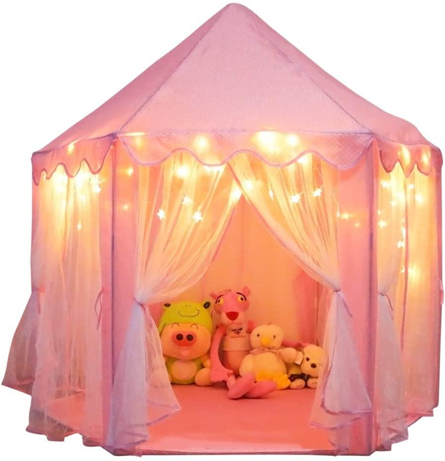 Orian Princess Castle Playhouse Tent
