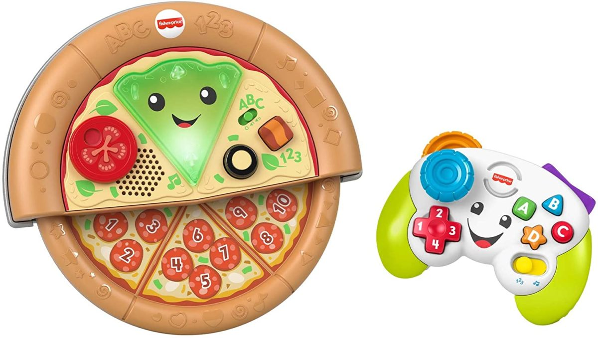Fisher-Price Laugh and Learn Game and Pizza Party Gift Set