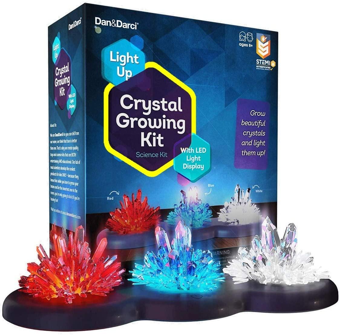 crystal growing kit for kids