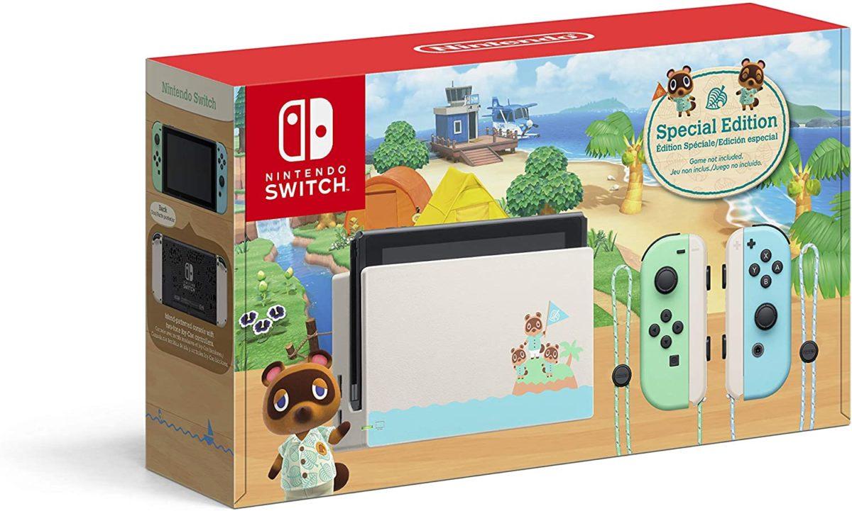 Nintendo Switch Animal Crossing: New Horizons Edition Toy