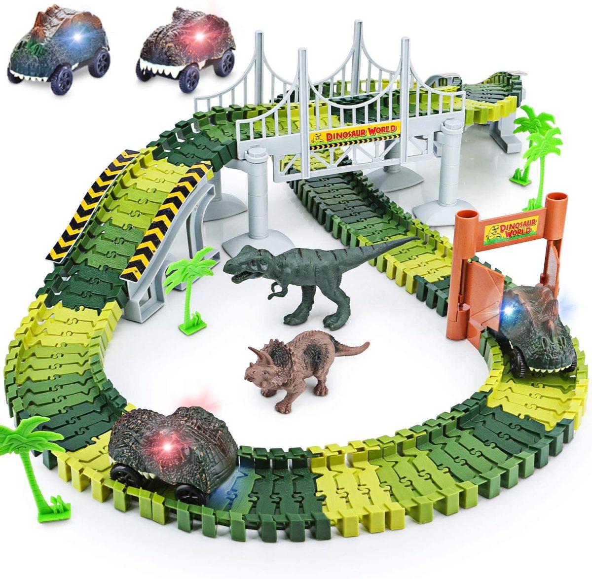 Dinosaur Toys Create A Dinosaur World Road Race