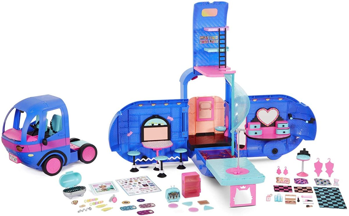 LOL Surprise! O.M.G. 4-in-1 Glamper Fashion Camper