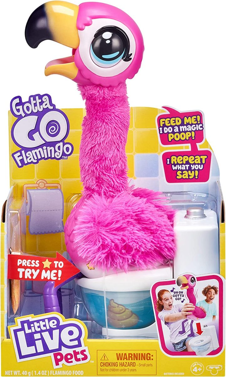Take Note Santa: Kids Are Freaking Out Over This Potty-Loving Gotta Go Flamingo