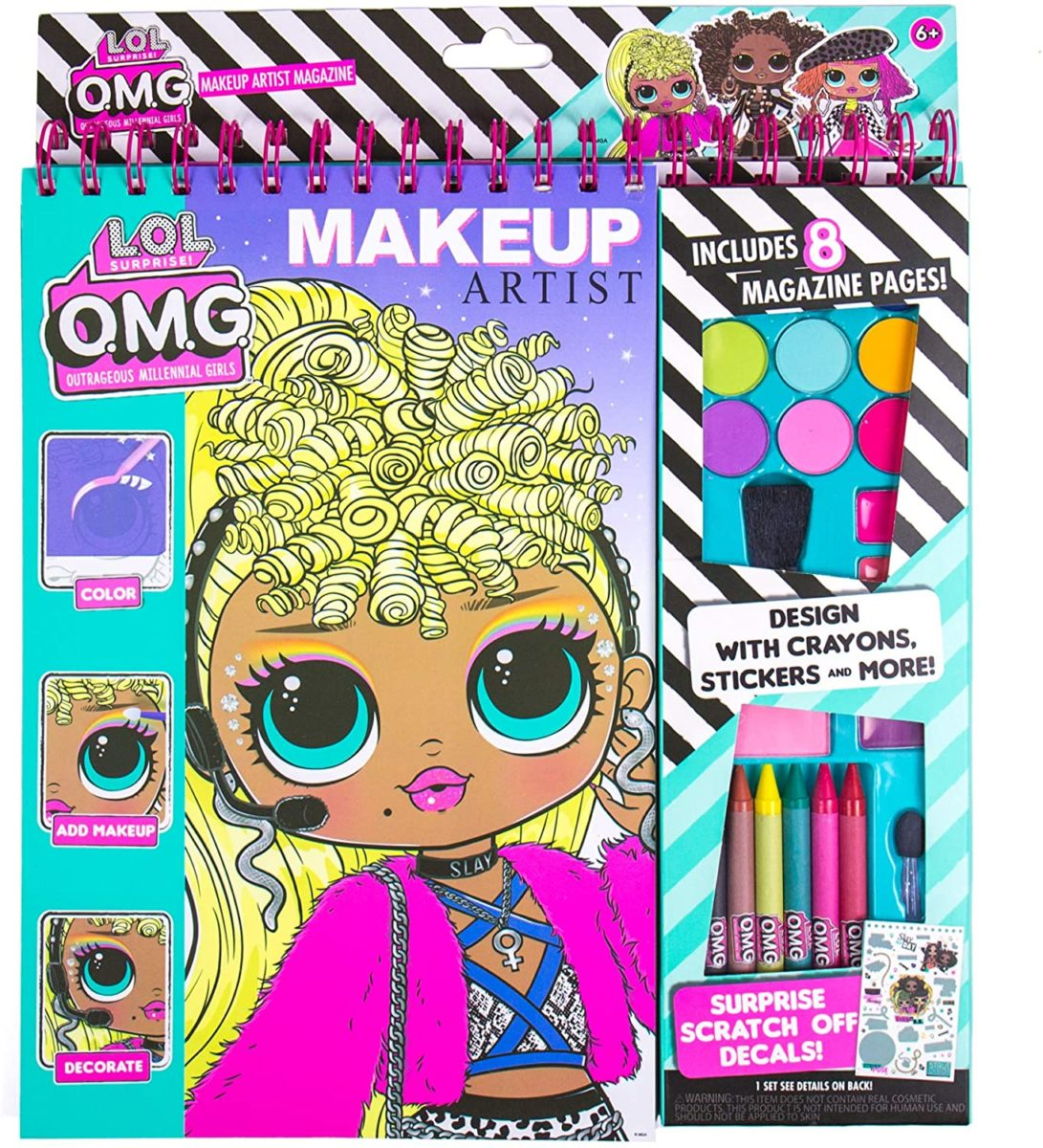 l.o.l. omg makeup artist toys under $20 that you can give your child as rewards for good behavior