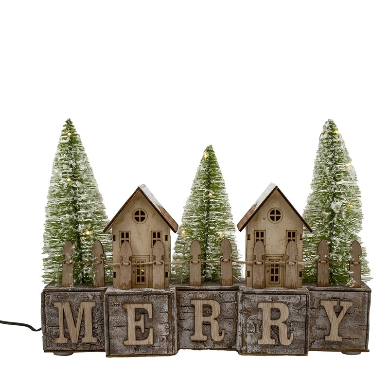 40 christmas decorations that will leave you and anyone else who enters your home with much holiday cheer   parenting questions   mamas uncut battery operatedledmerryvillagescene