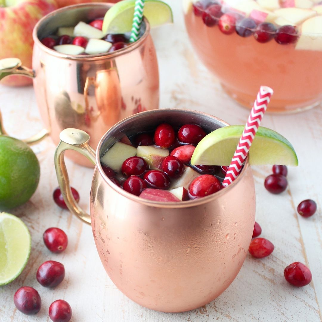 we found 12 heavenly holiday cocktails guaranteed to bring you joy moscow mule