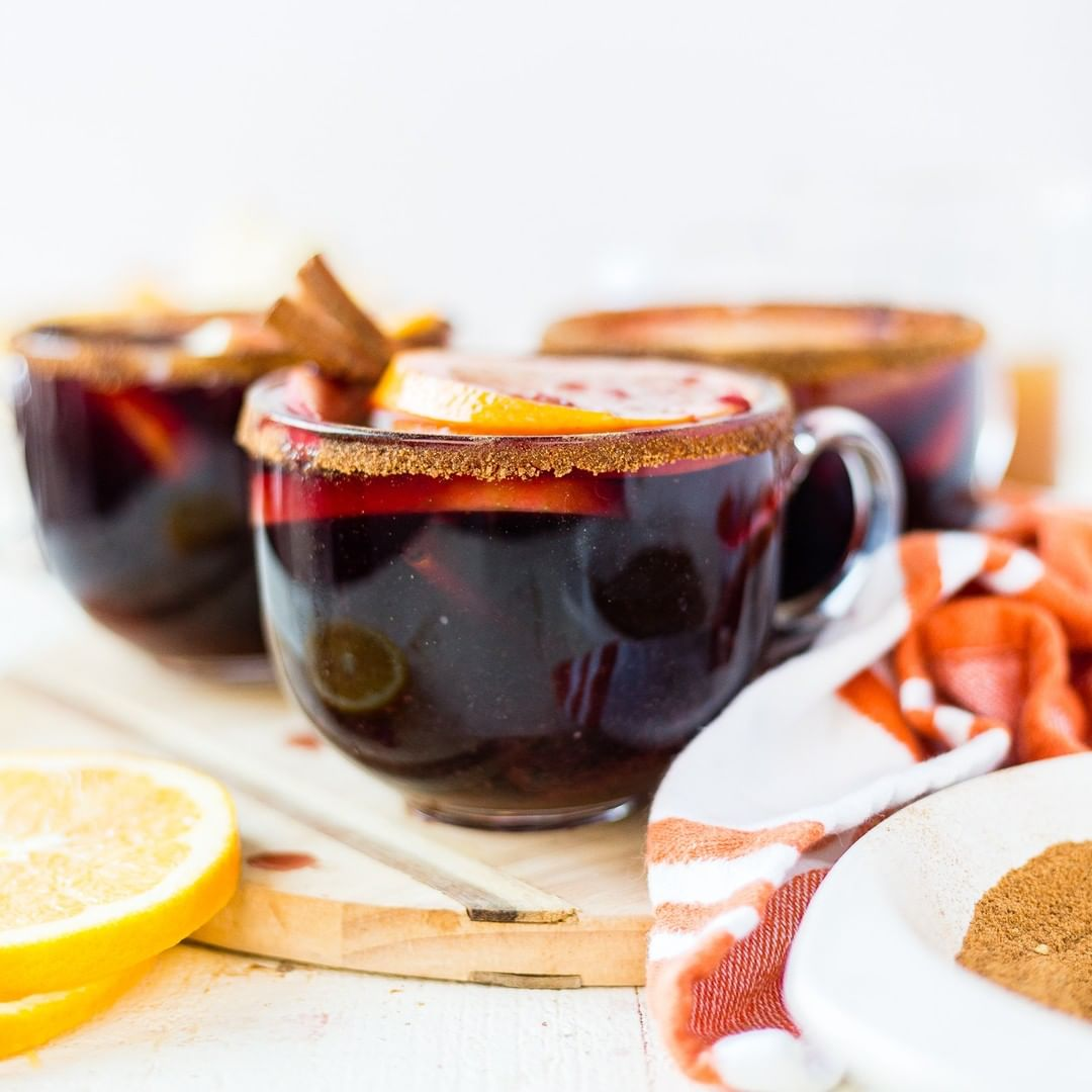 we found 12 heavenly holiday cocktails guaranteed to bring you joy warm winter sangria