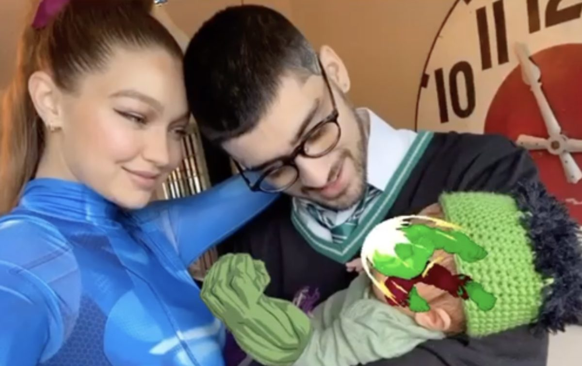 Zayn Malik And Gigi Hadid Post First Photo With Daughter